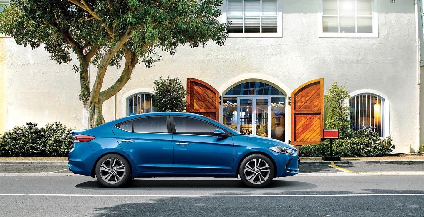 All new elantra named best in class at middle east car of the year awards