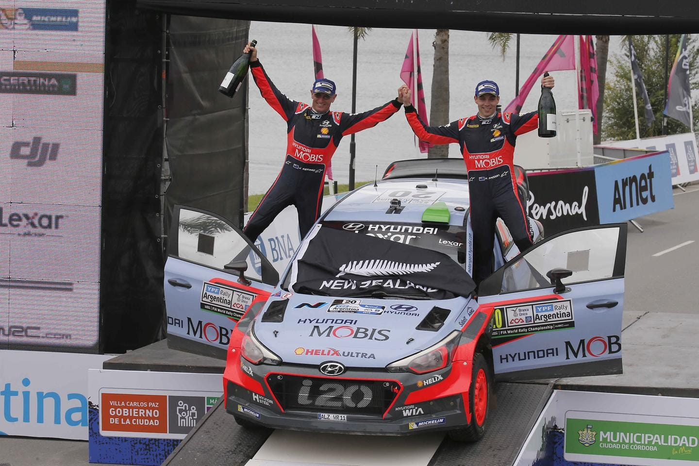 Hyundai Motorsport Takes Rally Argentina Victory With Hayden Paddon for Its New Generation i20 WRC