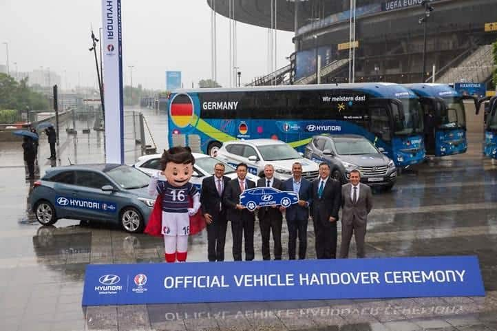 Hundreds of Hyundai Cars Set to Support UEFA EURO 2016™