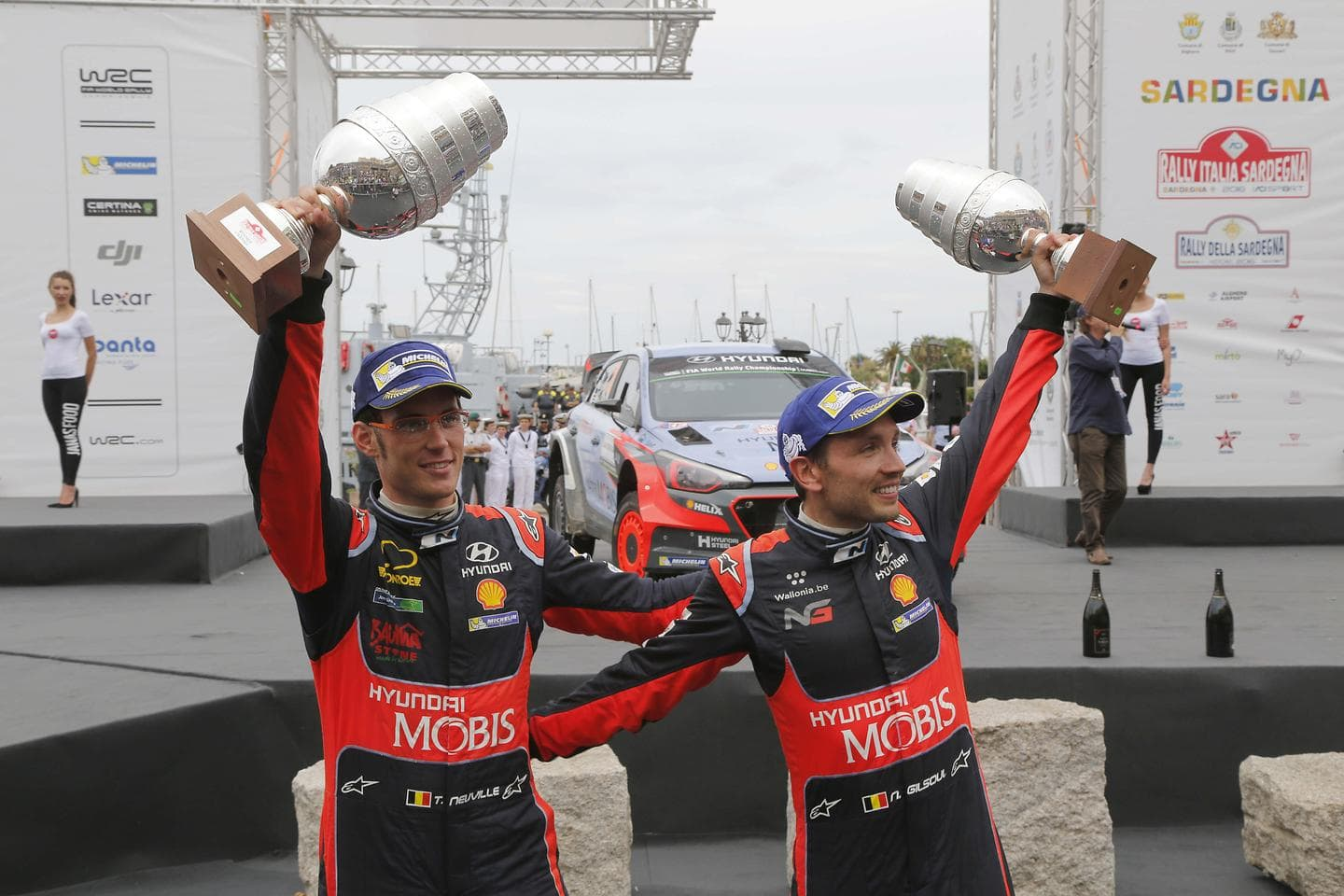 Hyundai Motorsport Scores Victory as Thierry Neuville Wins the WRC Rally Italia