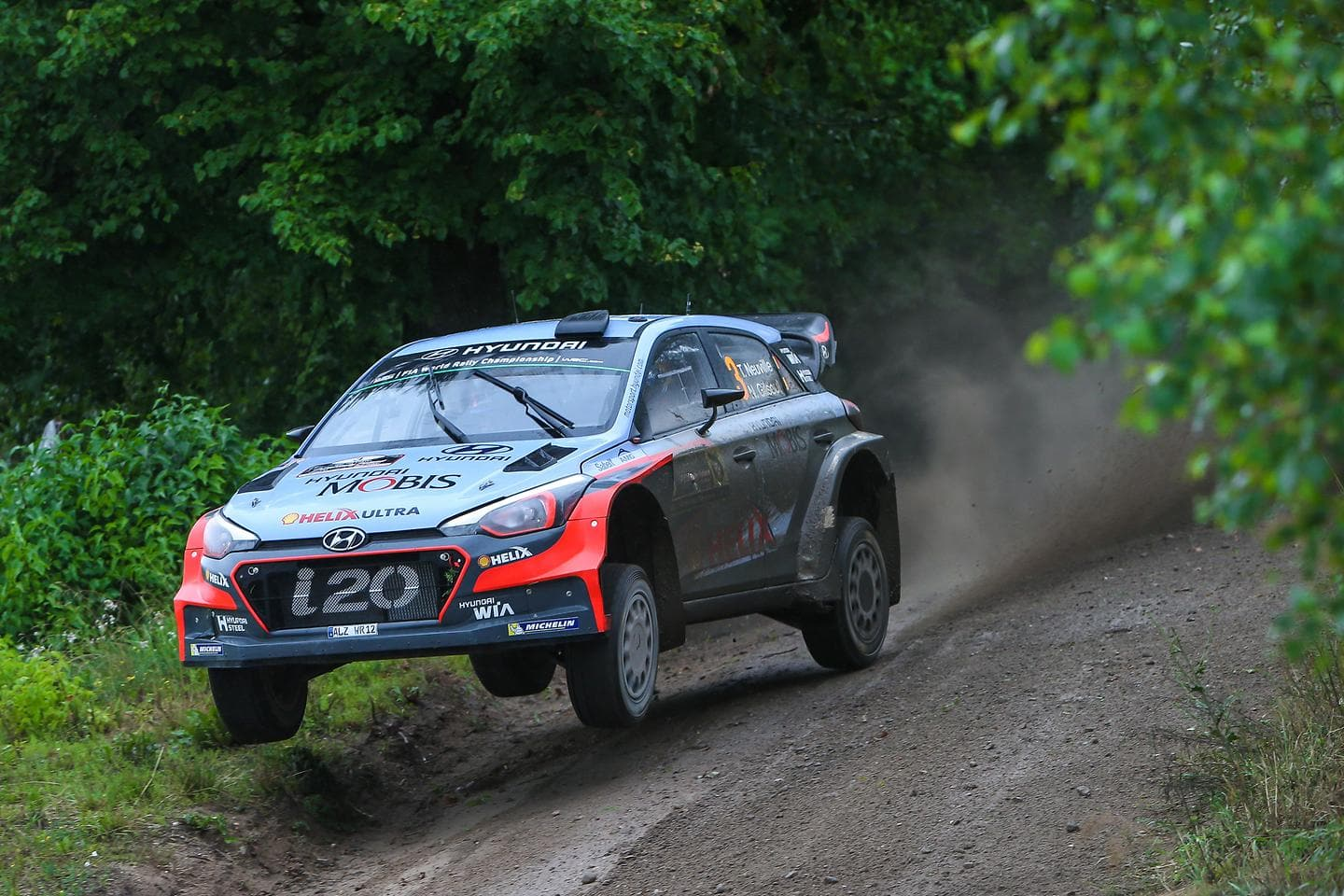 Hyundai Motorsport Claims Fifth Podium for 2016 Season at WRC Rally Poland