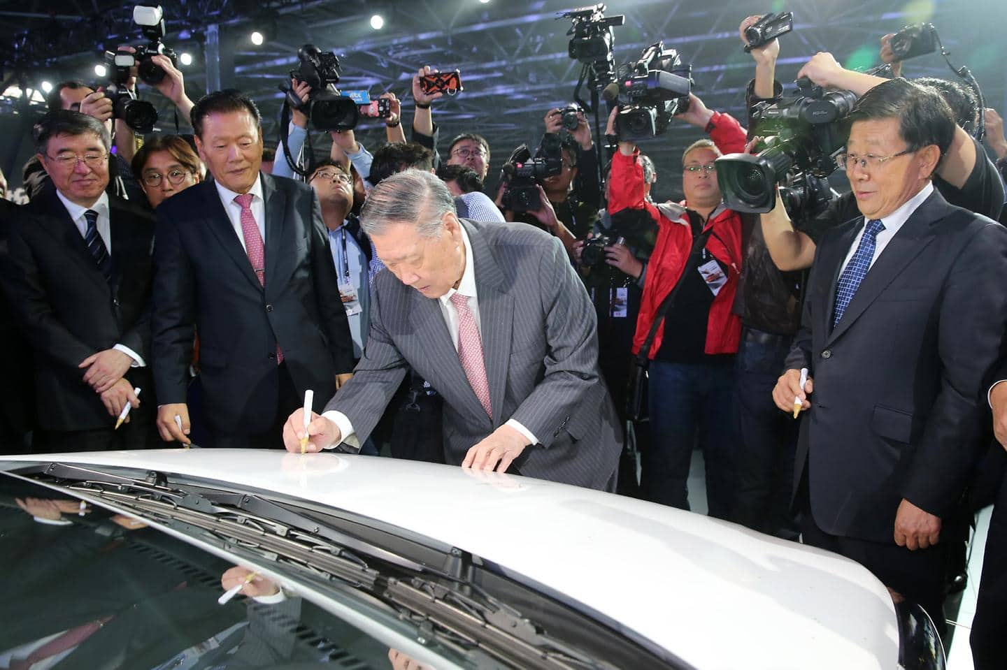 Hyundai Motor Company Opens New Plant in Cangzhou, China