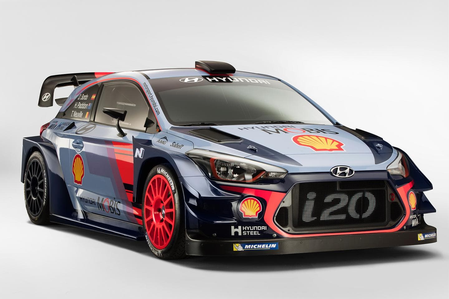 Hyundai Motorsport Unveils Hyundai i20 Coupe WRC for the Team's 2017 WRC Season