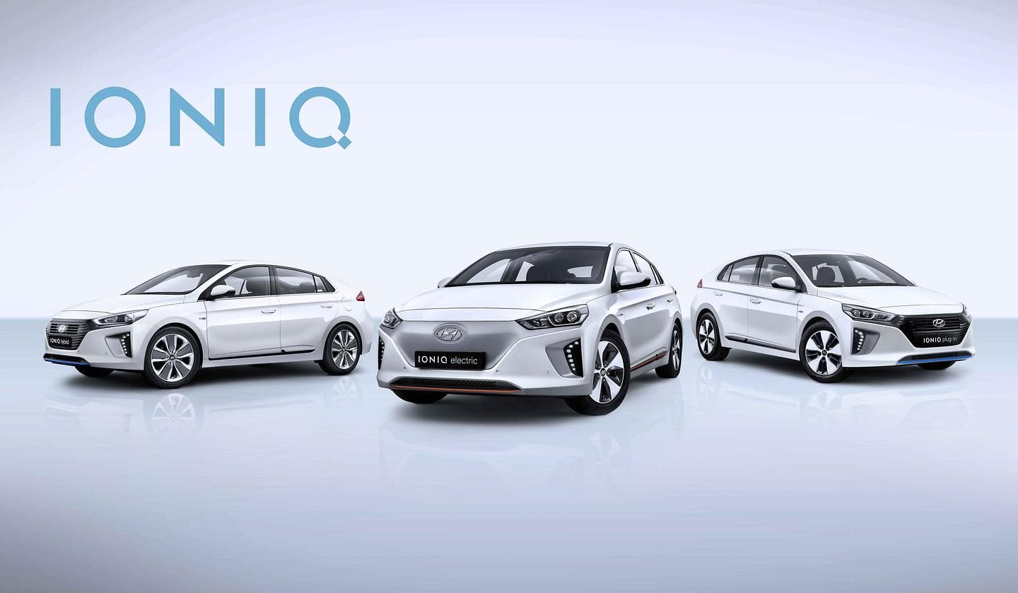 Hyundai IONIQ Wins 2016 GOOD DESIGN® Awards