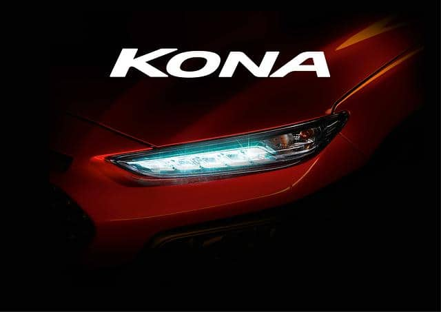 Hyundai Motor Reveals KONA as Hawaii-Inspired Name for New Compact SUV