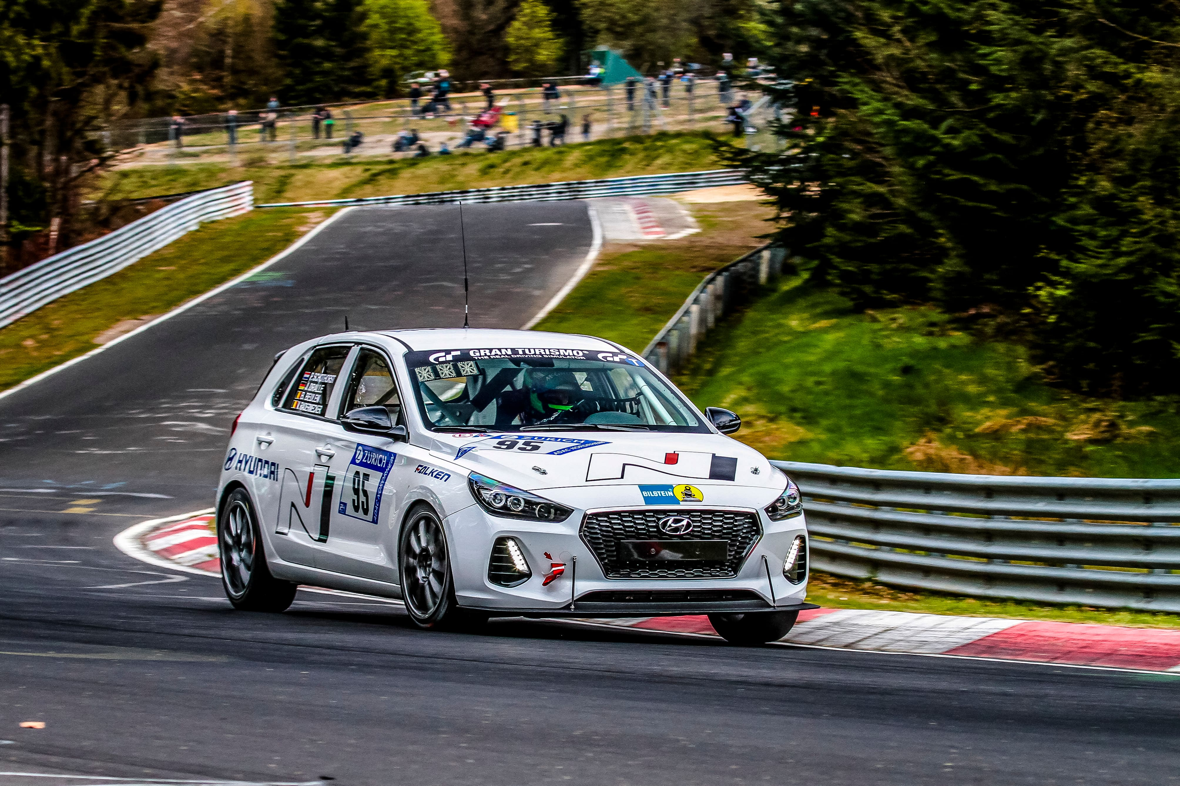 Final Test for Hyundai i30 N During the Nürburgring 24-Hour Race