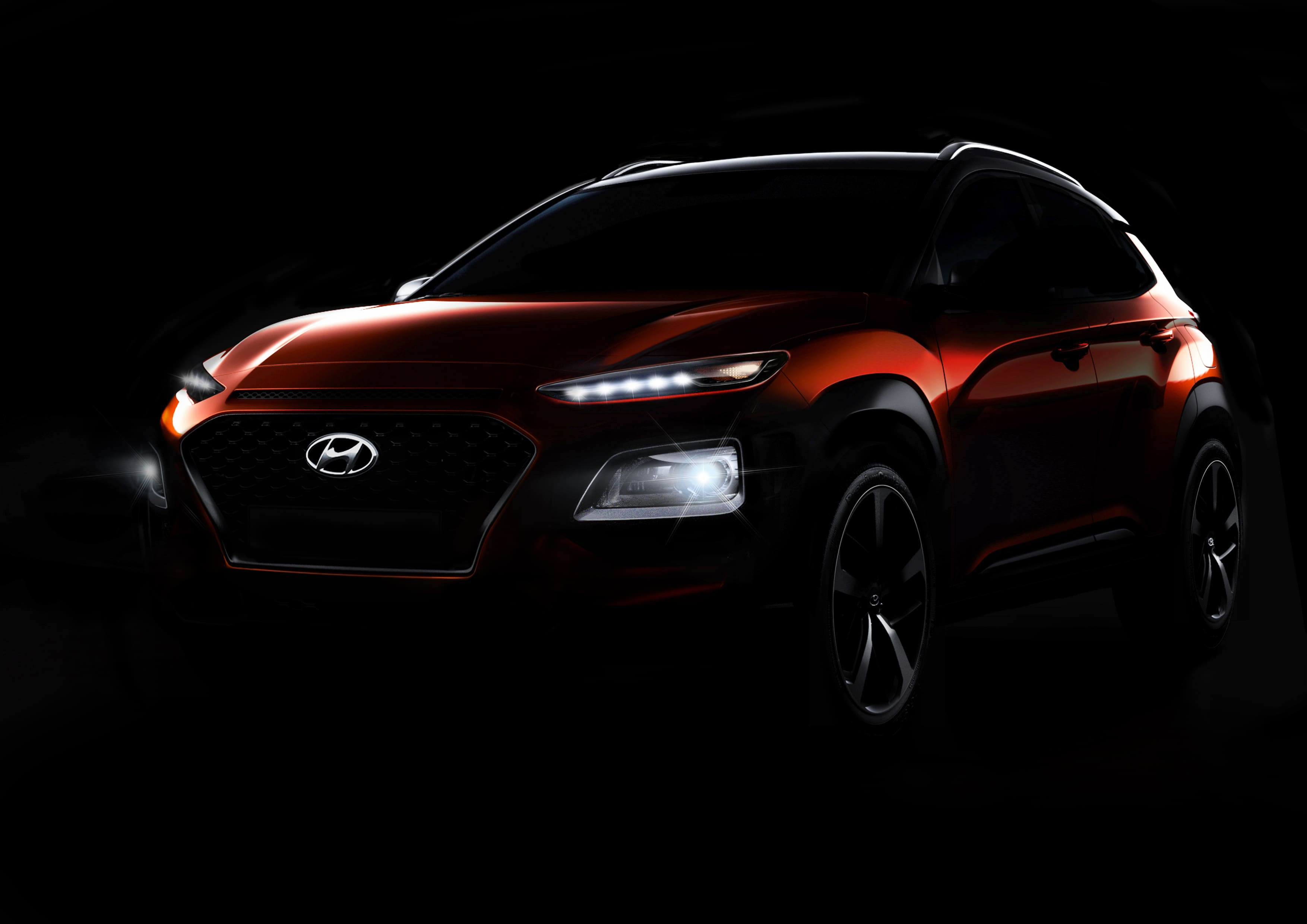 Hyundai Motor Reveals Progressive Character of All-New SUV in Kona Teaser Video