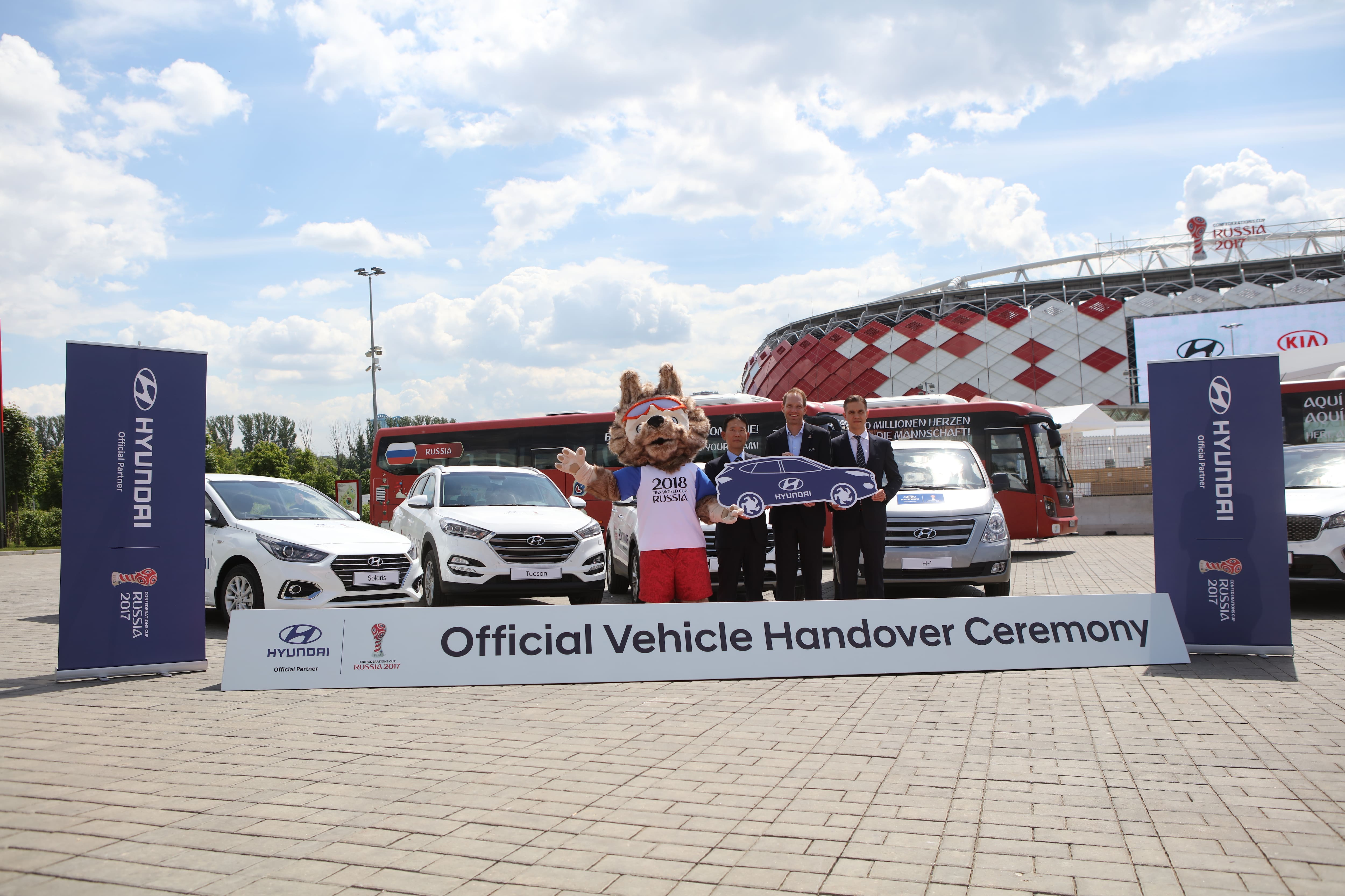 Hyundai Motor Tackles Transportation for the FIFA Confederations Cup 2017