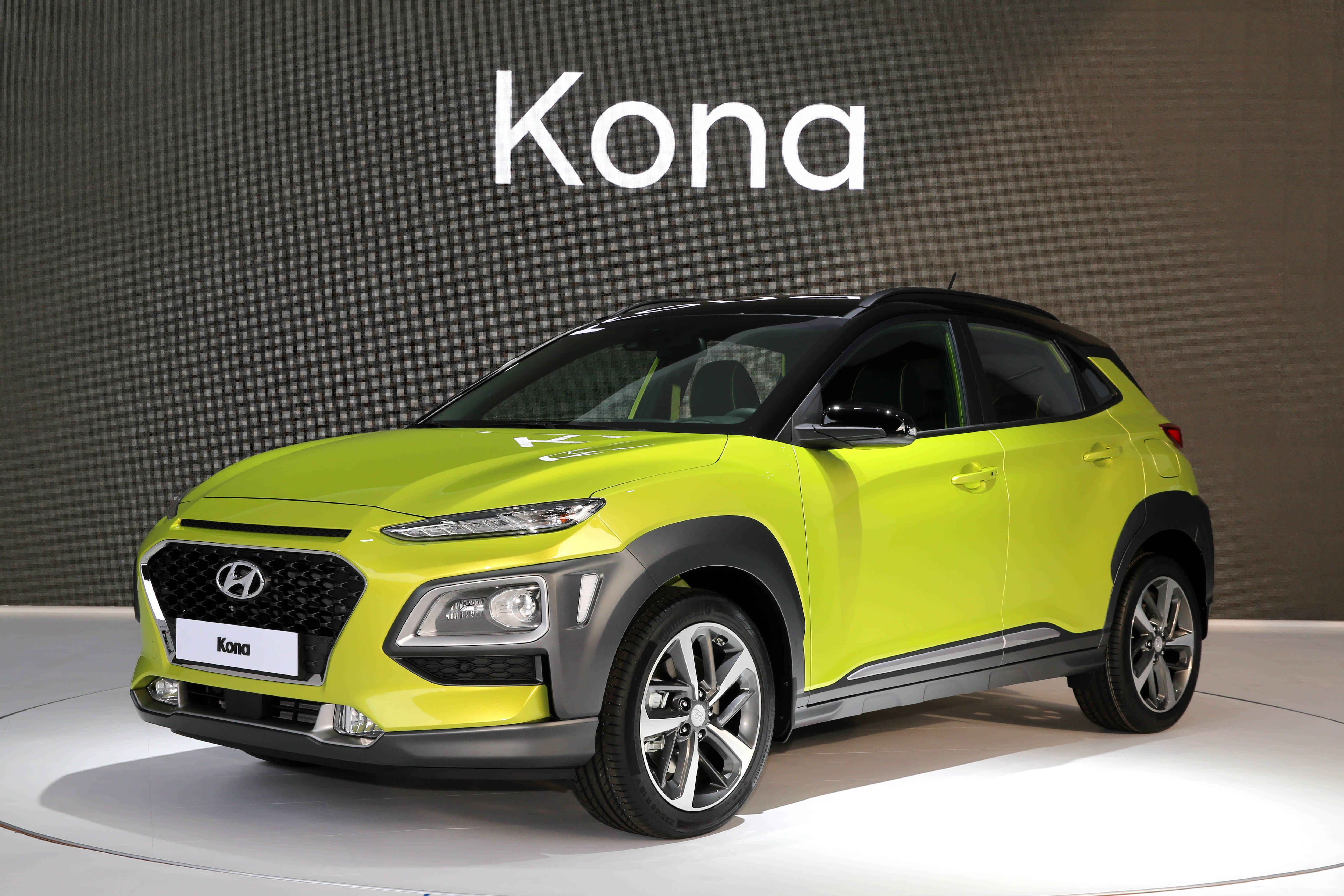 Kona : World Premiere of an Urban SUV for Active Lifestyles