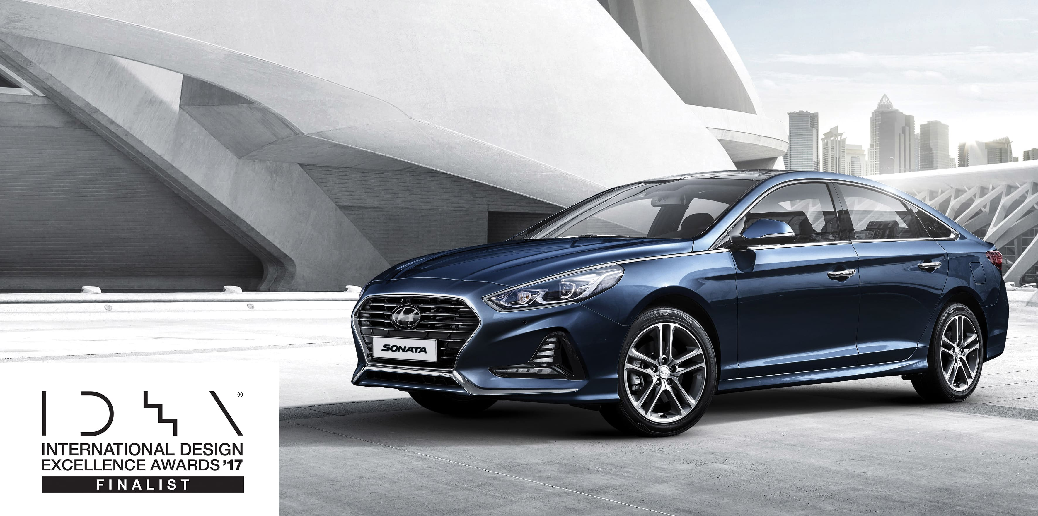 Sonata and Elantra GT Named Finalists in the 2017 International Design Excellence Awards