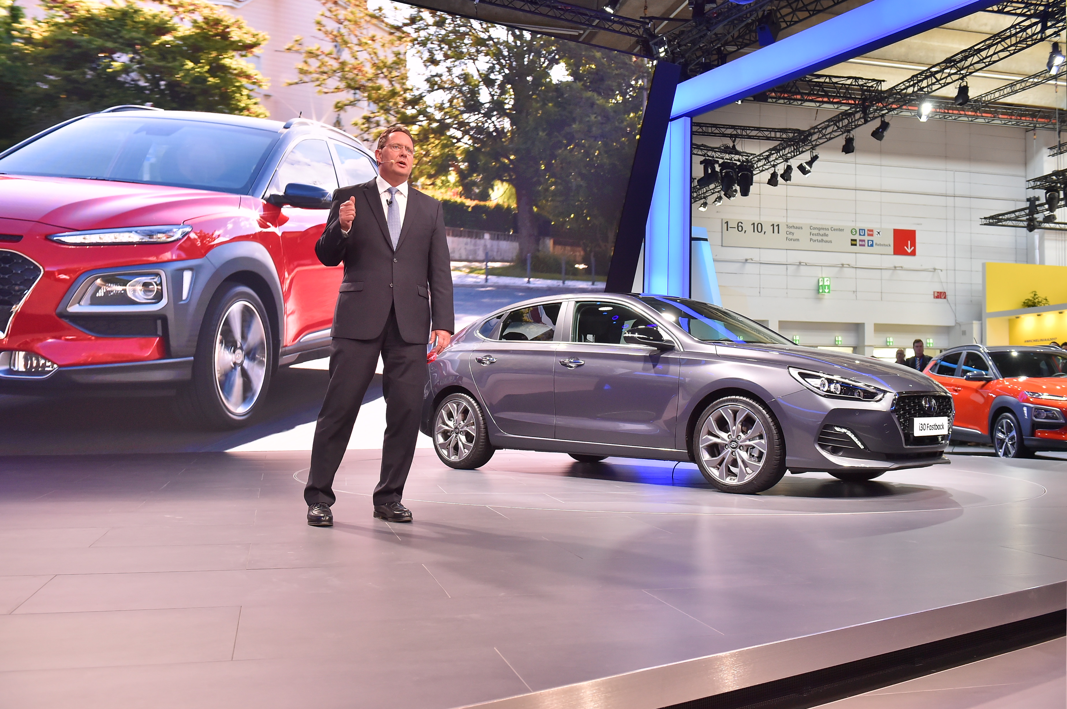 Hyundai Motor At The 2017 Iaa Public Debut For Three Models