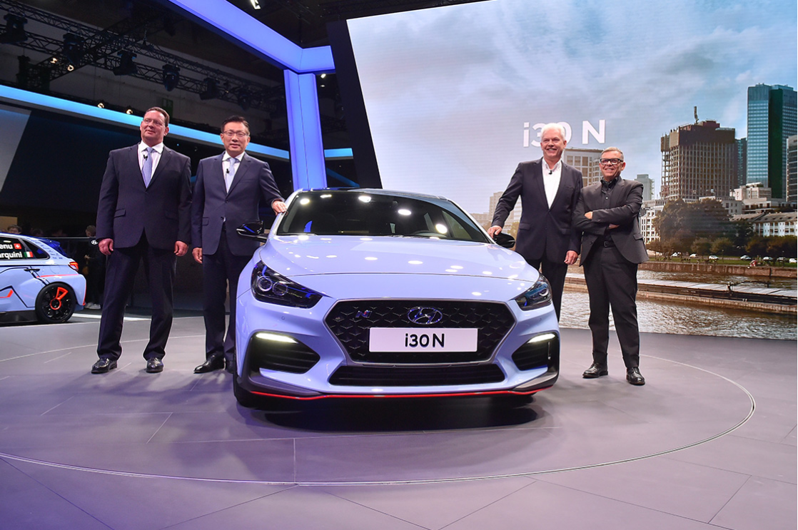Hyundai Motor at the 2017 IAA : Public Debut for Three Models