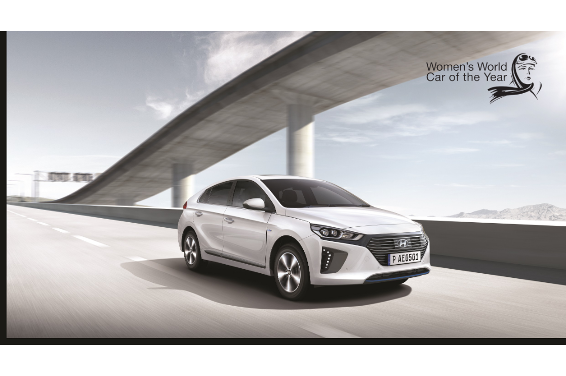 2018 Hyundai Ioniq Wins Women's World Car of the Year