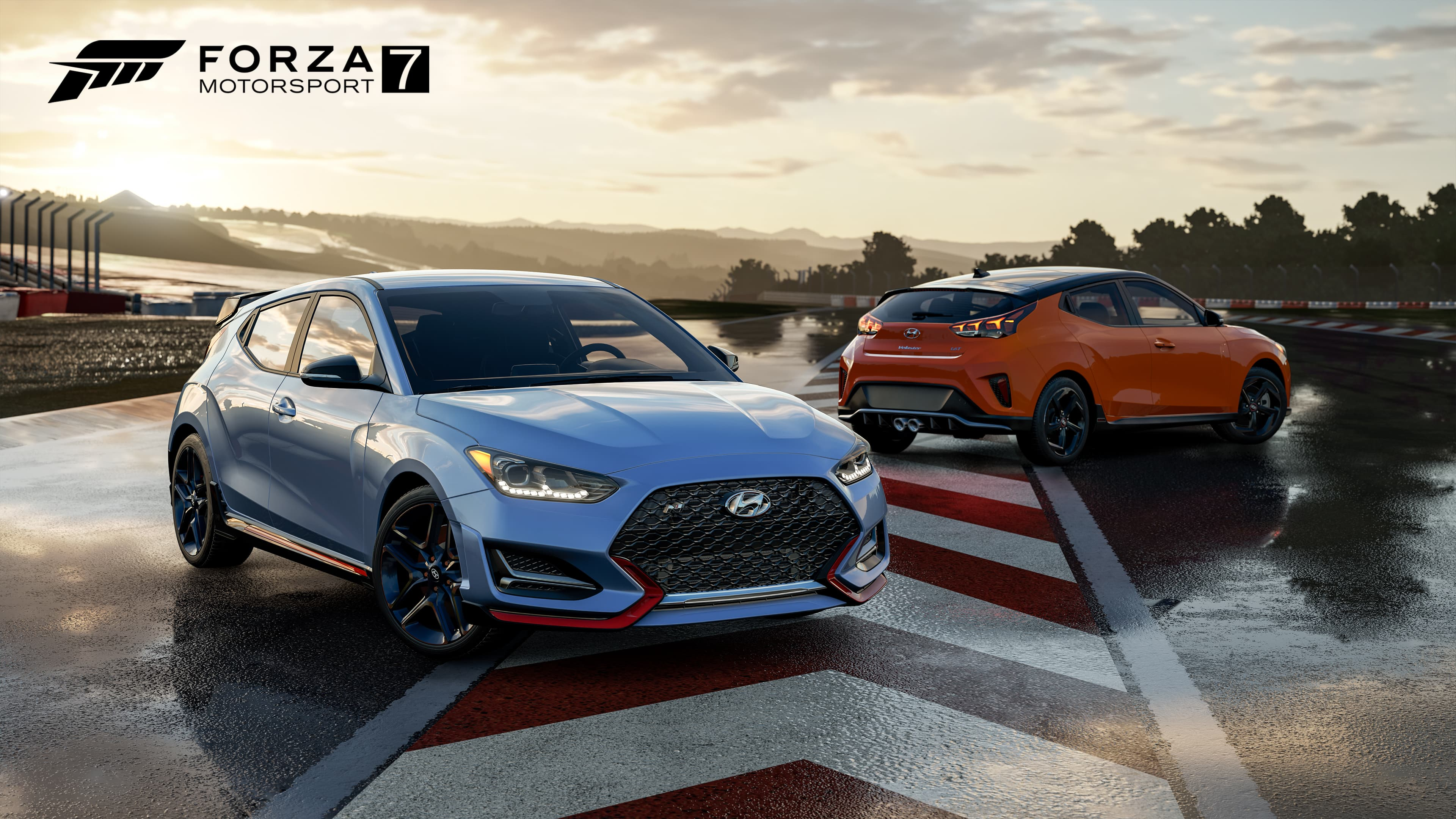 Hyundai Debuts 2019 Veloster Turbo and Veloster N in Forza Motorsport 7