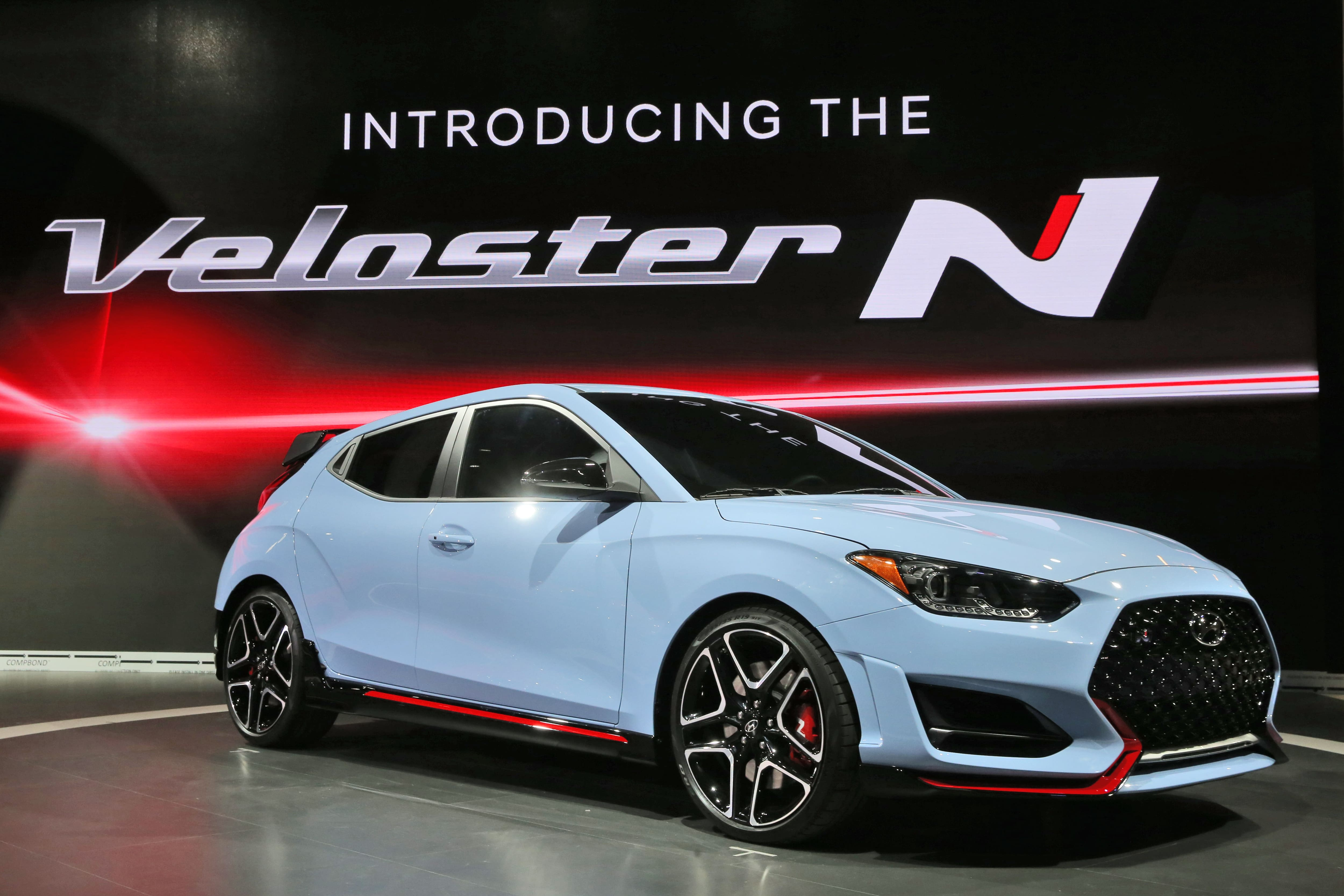 Hyundai Reveals New High Performance Model for N Line-Up: 2019 Veloster N