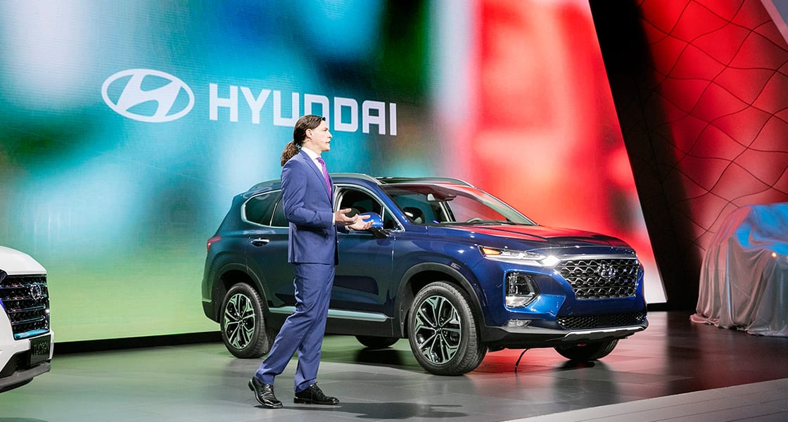 The All-New 2019 Santa Fe Makes its United States Debut at the New York International Auto Show