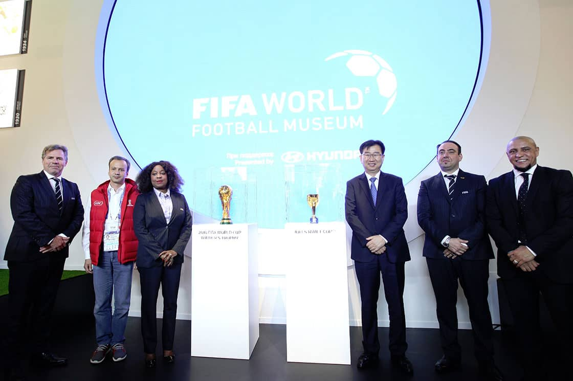 "Hyundai Motor Holds Grand Opening Ceremony For ""FIFA World Football Museum Presented By Hyundai"""