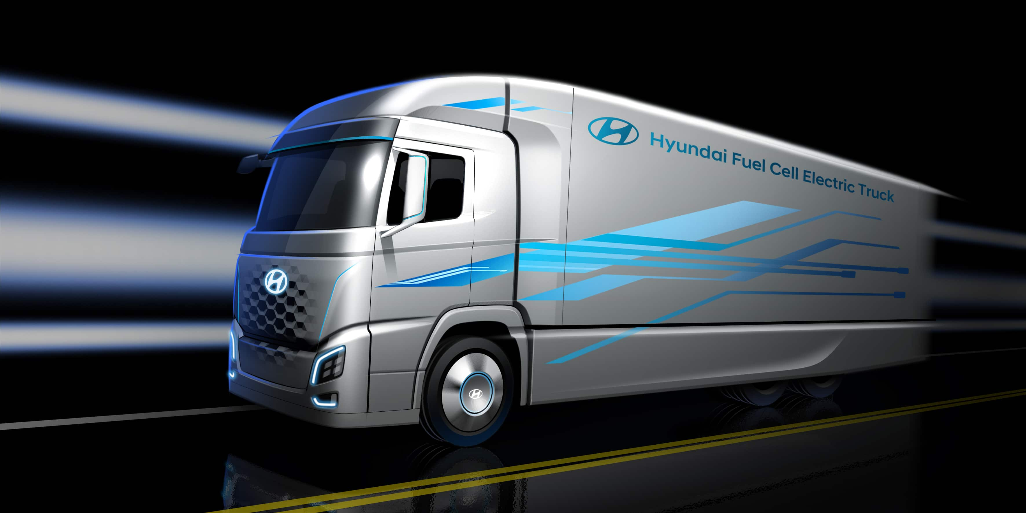 Hyundai Motor Presents First Look at New Truck with a Fuel Cell Powertrain, Ahead of IAA Commercial Vehicles 2018 Announcement