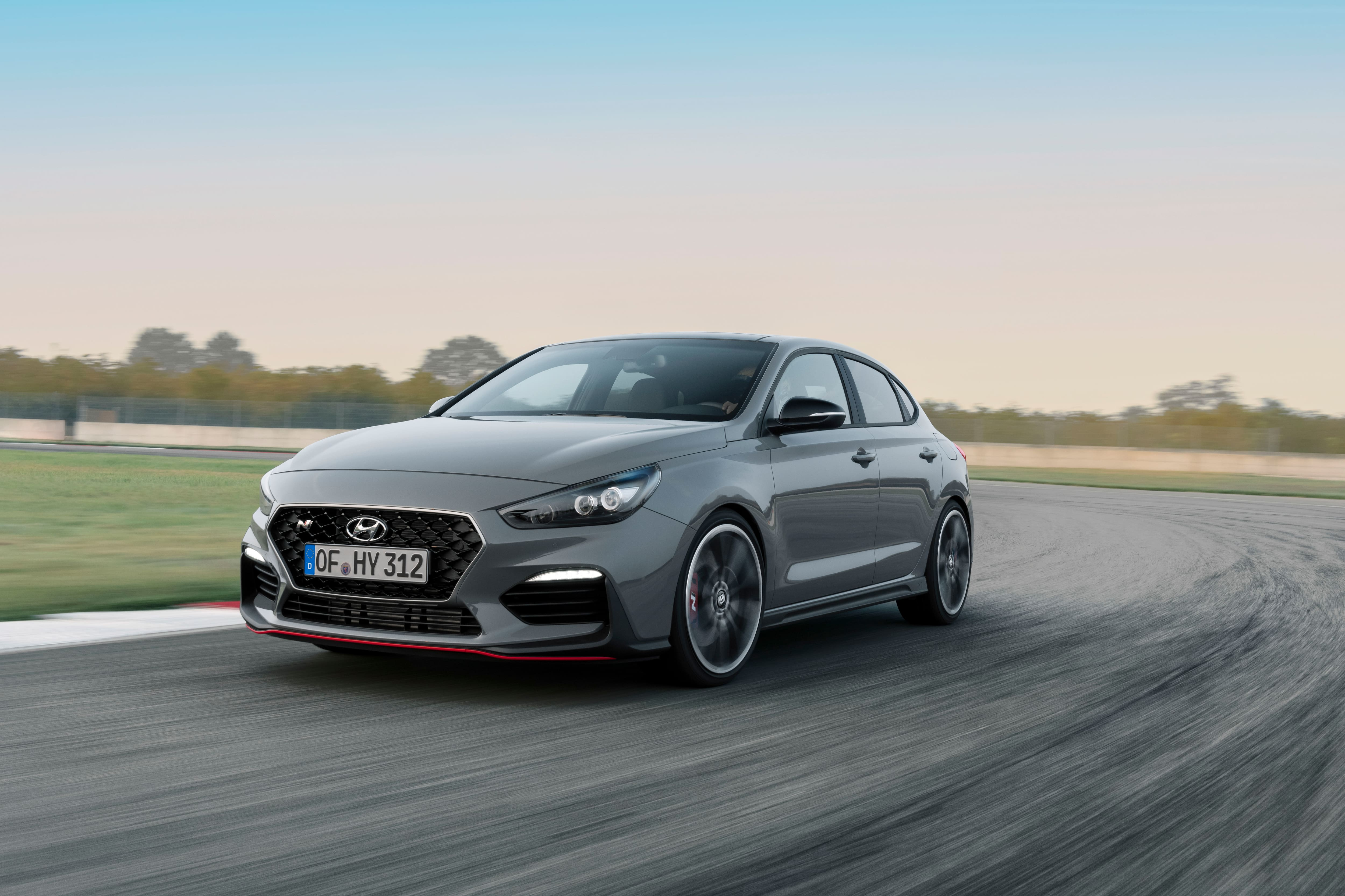 From Rome to Paris in 8:18 minutes: Hyundai unveils the All-New i30 Fastback N