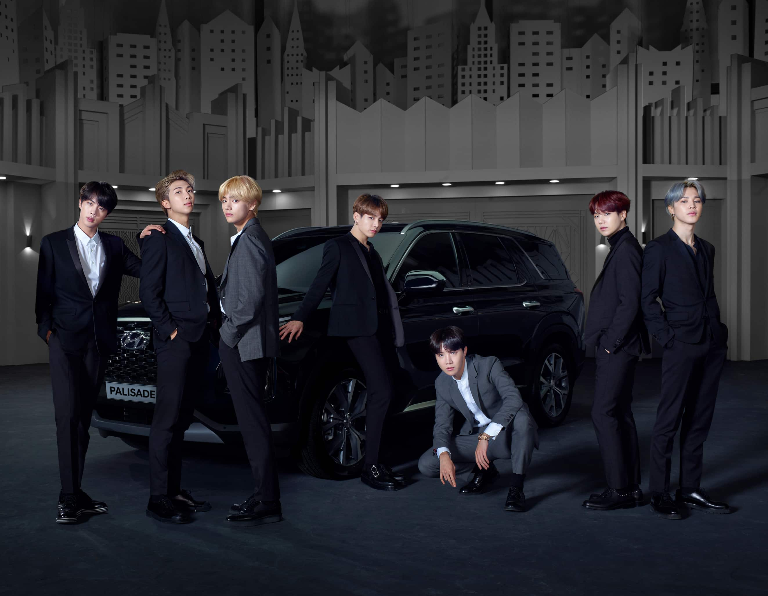 Hyundai Motor Appoints BTS as Global Brand Ambassadors of the All-New Flagship SUV 'Palisade'