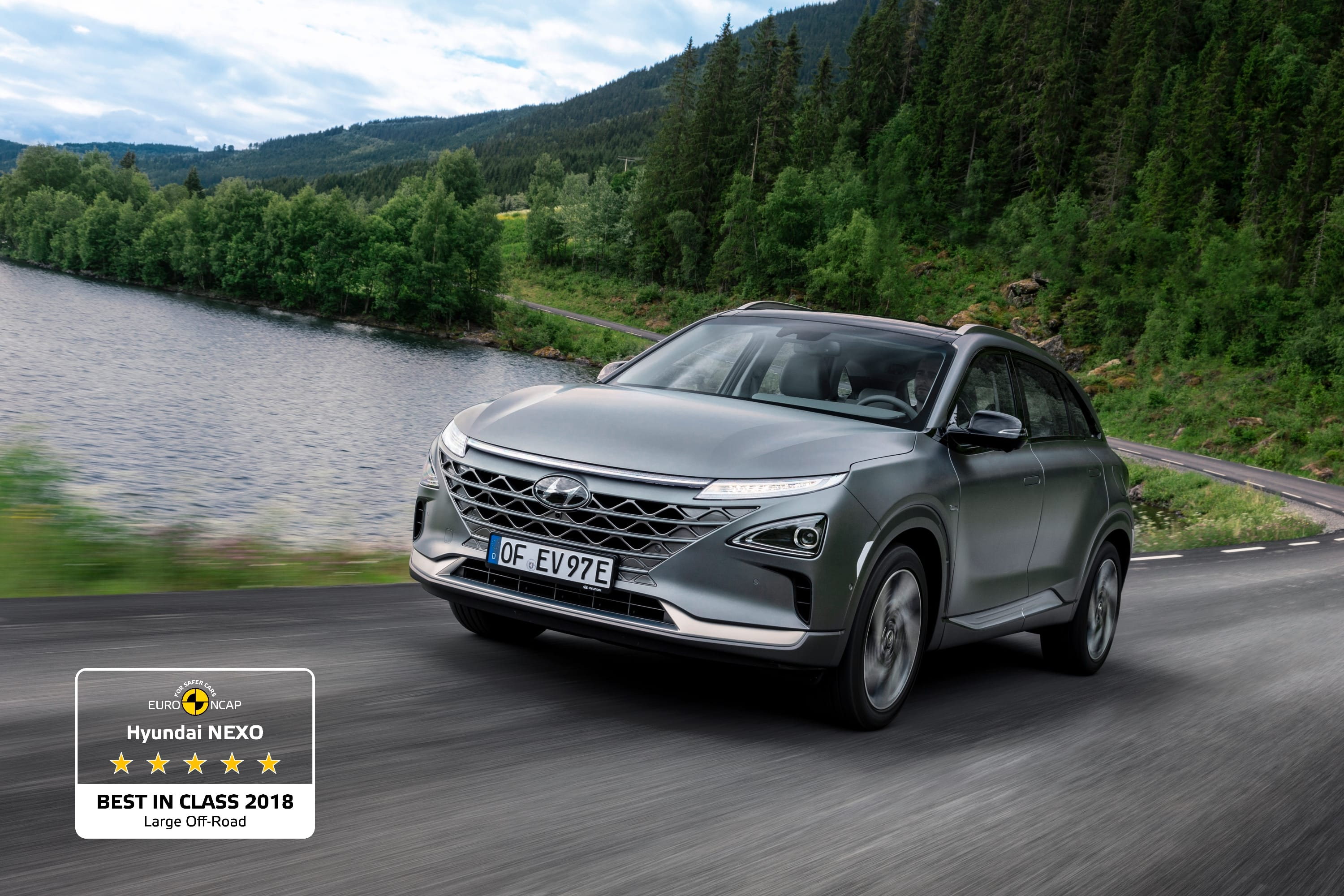All-New Hyundai NEXO among Euro NCAP's Best in Class Cars of 2018