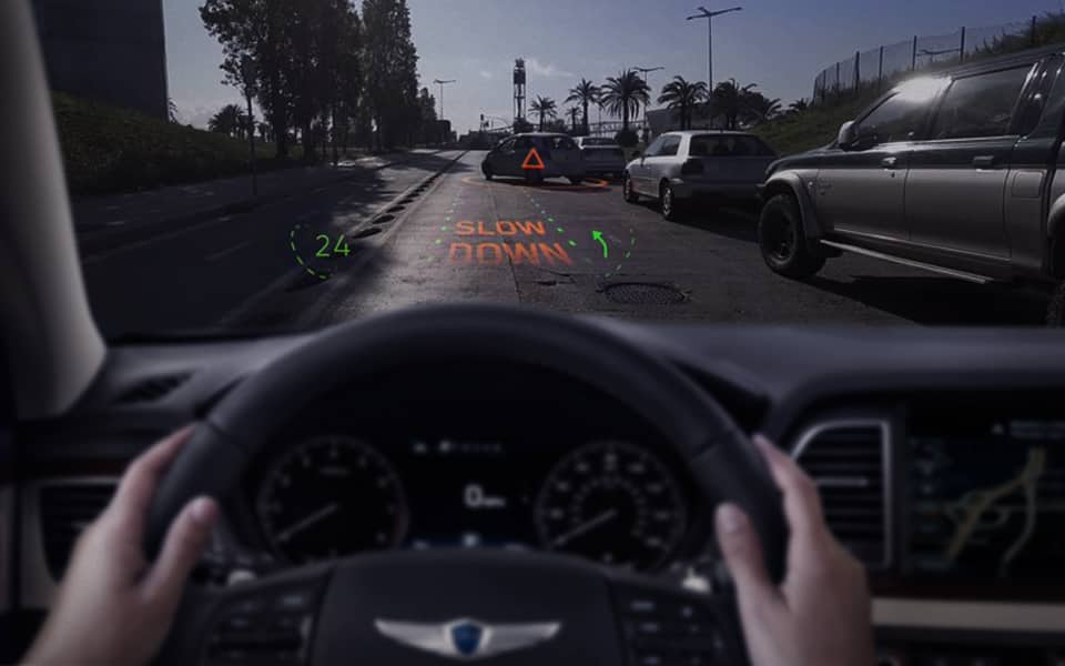 Hyundai Motor Group and WayRay Unveil Next-generation Visual Technology at CES 2019