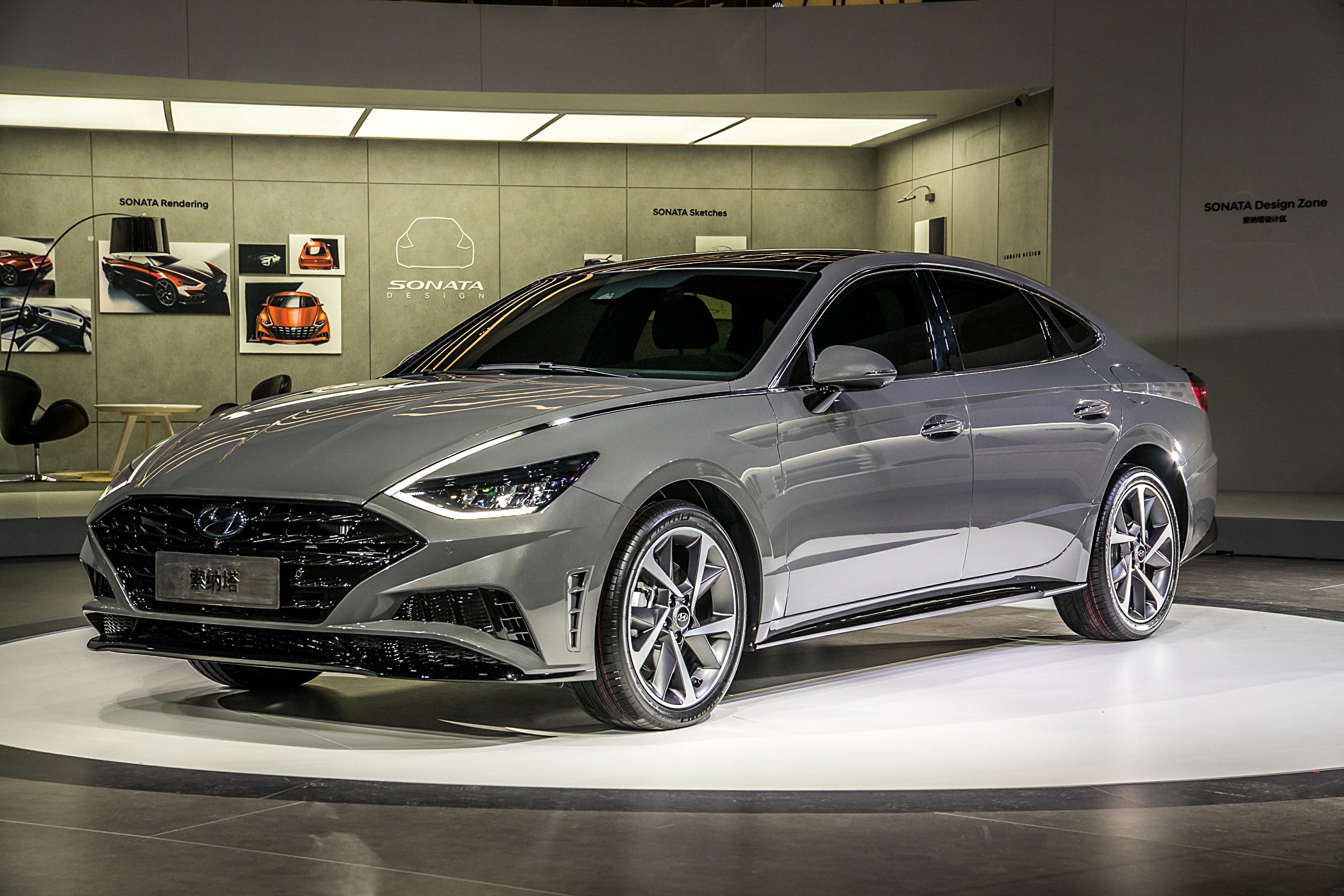 Hyundai Motor Premieres China Focused All New Sonata And All New Ix25 At Auto Shanghai 2019
