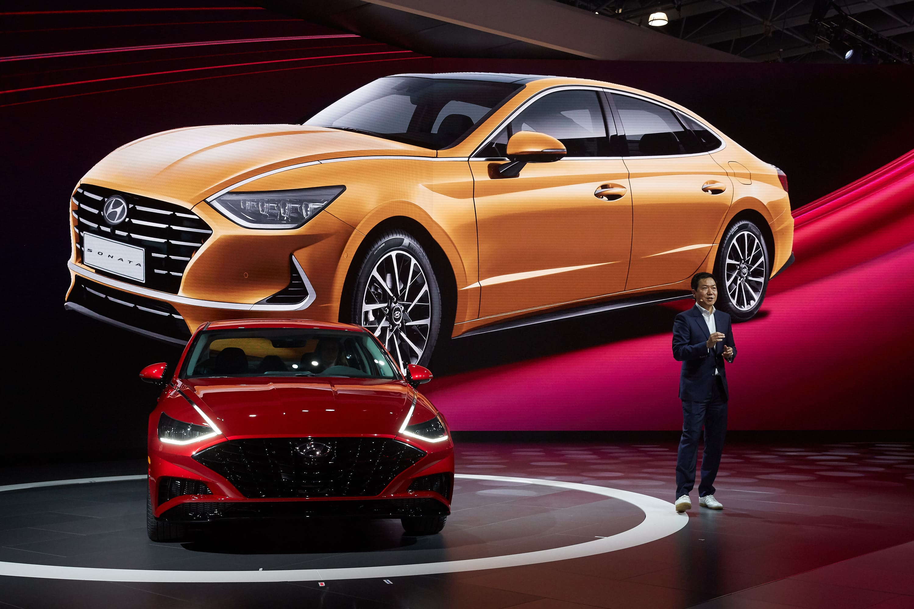New 2020 Hyundai Sonata Makes Its North American Debut at the New York International Auto Show