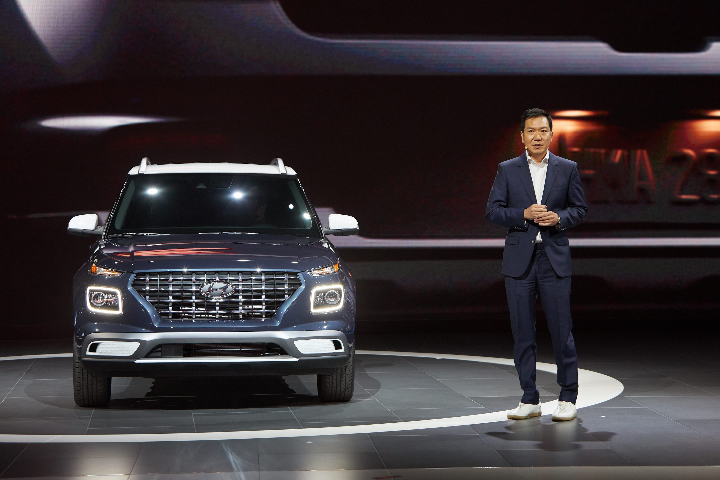 "Hyundai ""Venue"" Makes World Debut at the 2019 New York International Auto Show"