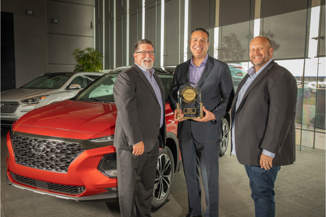 Hyundai Finishes as the Second-Highest Non-Premium Brand in J.D. Power's 2019 U.S. Initial Quality Study (IQS)SM
