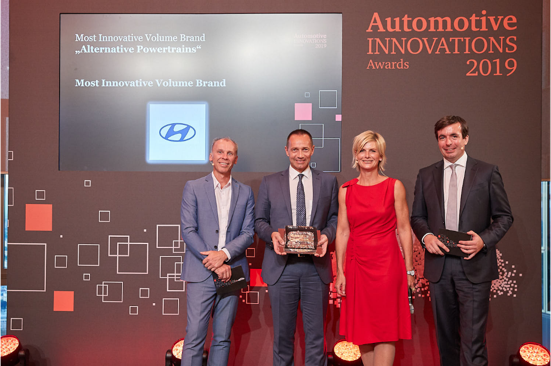 Hyundai Motor Receives Two Automotive Innovations Awards for Most Innovative Brand