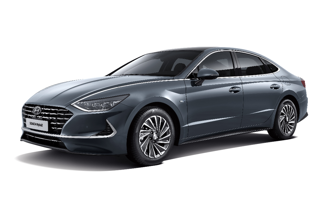 Hyundai Motor's Sonata Hybrid Makes Global Debut