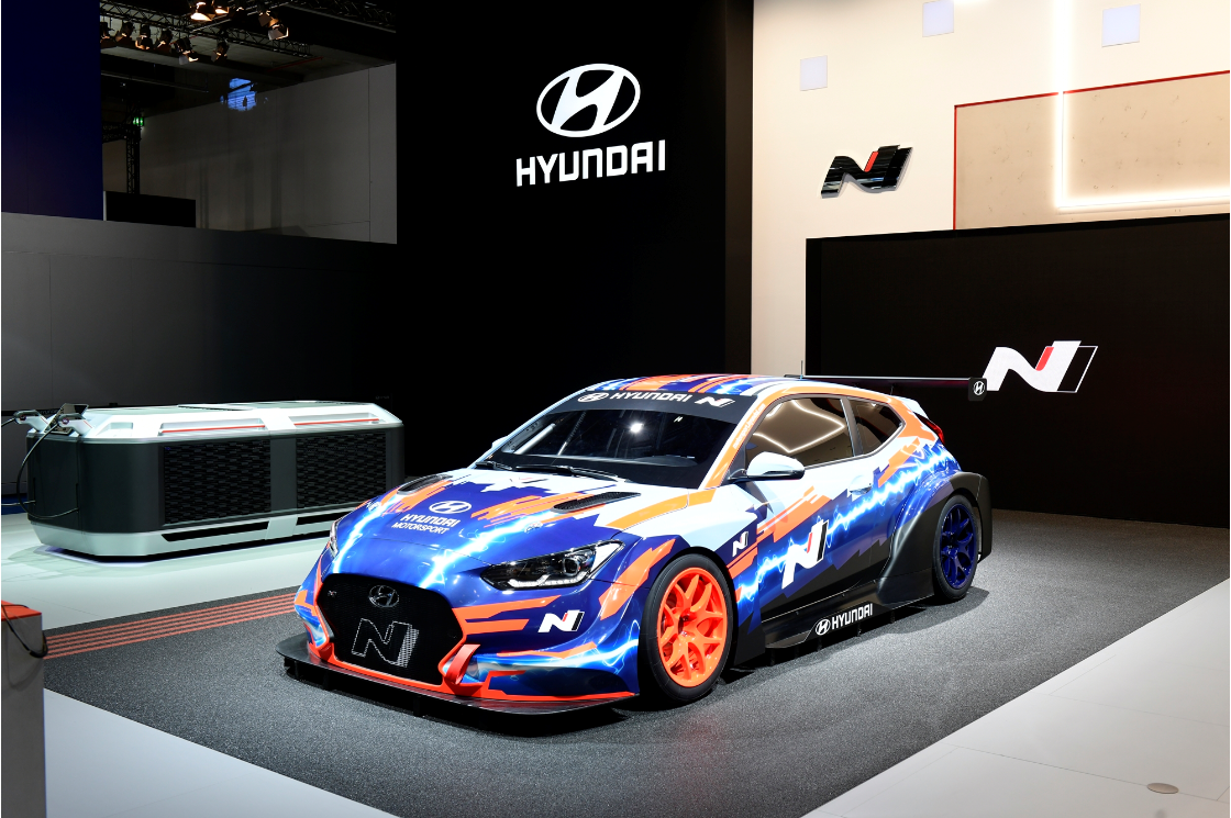 Hyundai Motorsport reveals the Veloster N ETCR at IAA 2019