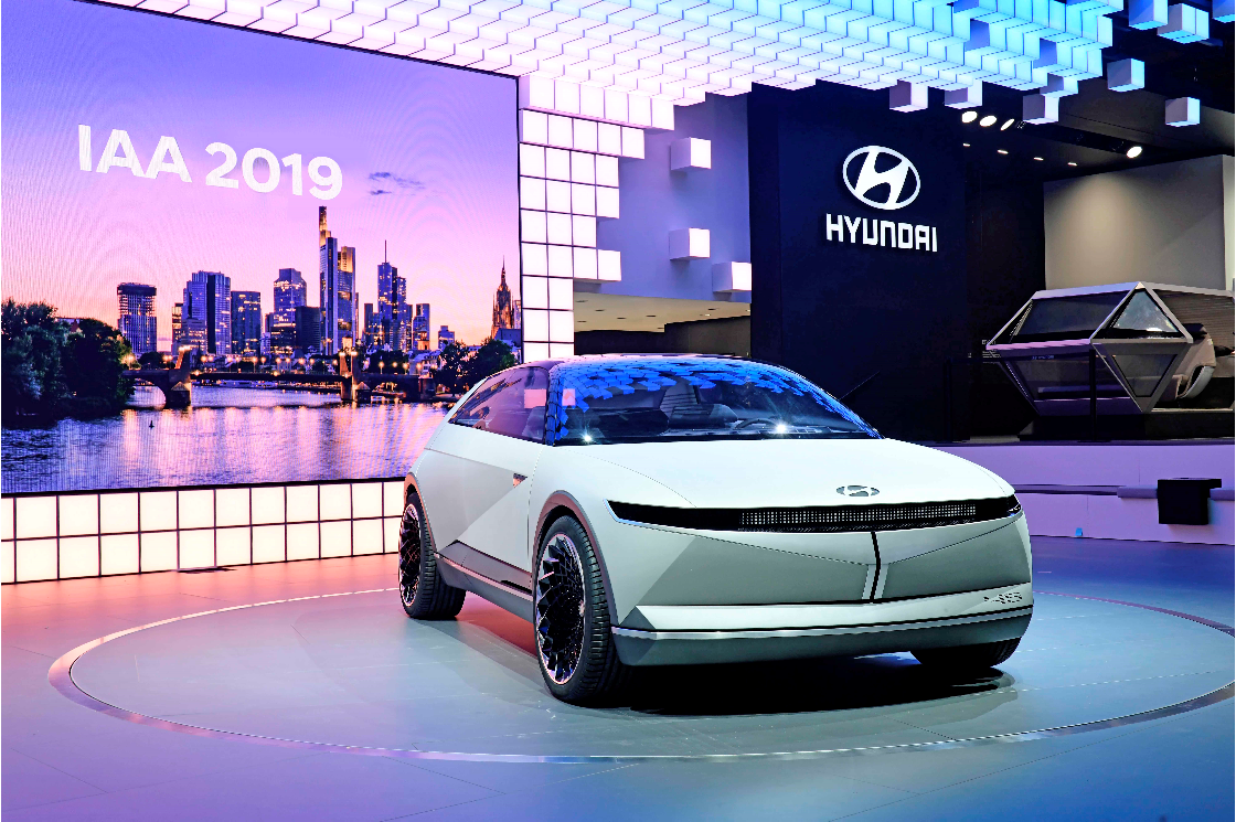 Hyundai Motor Unveils 45 EV Concept at IAA 2019 in Frankfurt to Define Future Through Heritage