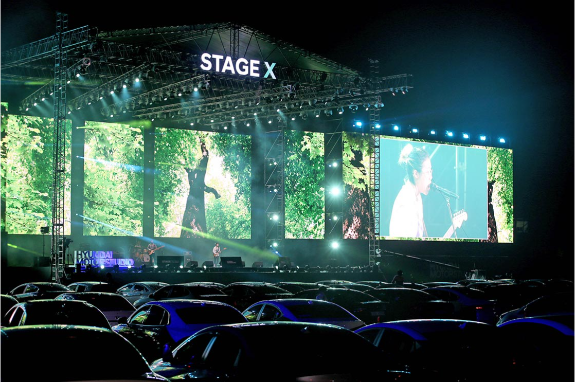 Hyundai Motor Enables Shared Experiences Safely with 'Stage X Drive-in' Event, Celebrating Music and Togetherness