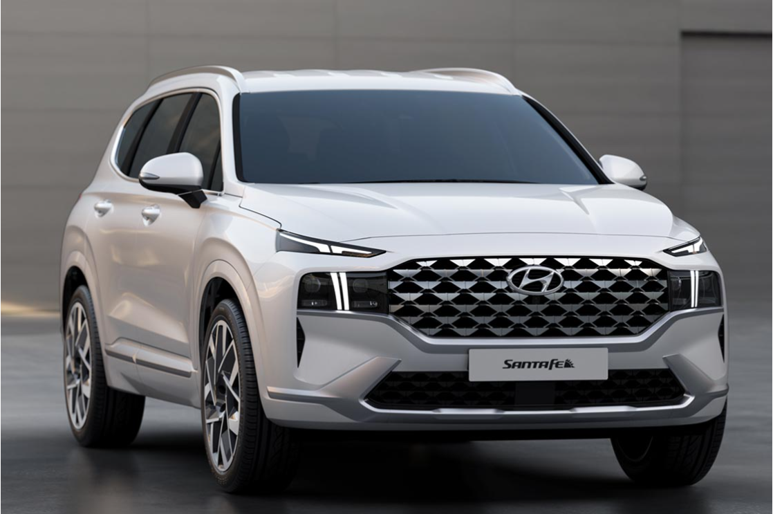 Hyundai Motor Unveils Design of New Santa Fe SUV, the Ultimate Family Adventure Vehicle