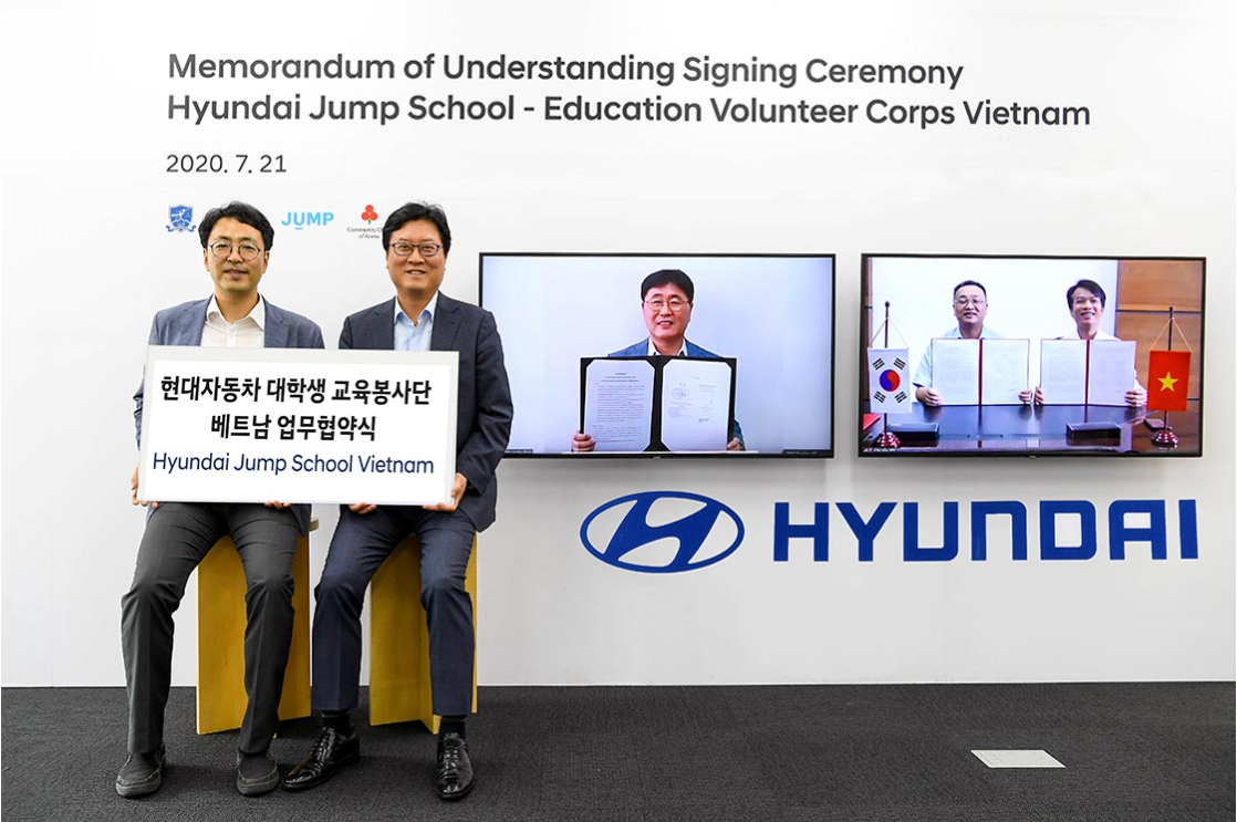 Hyundai Motor Kicks off Education Program in Vietnam for Underprivileged Teenagers