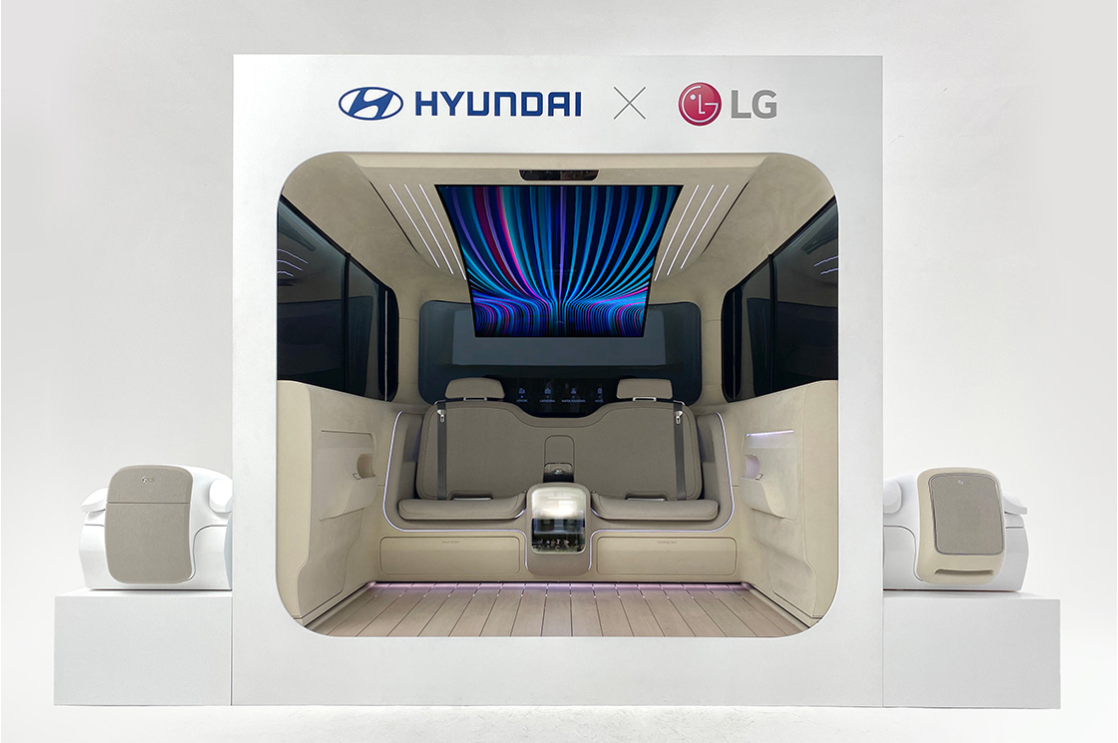 Hyundai Motor Envisions Future of Mobility Experience with IONIQ Concept Cabin