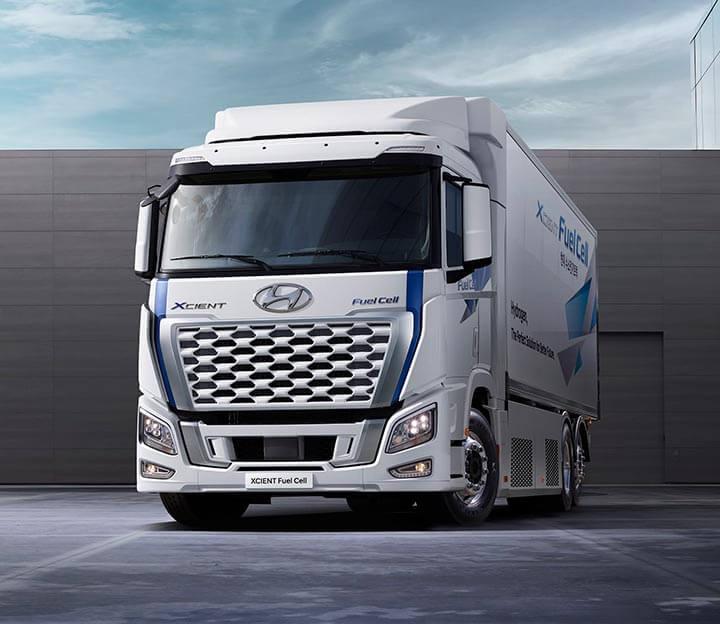 Datos del Hyundai XCIENT Fuel Cell