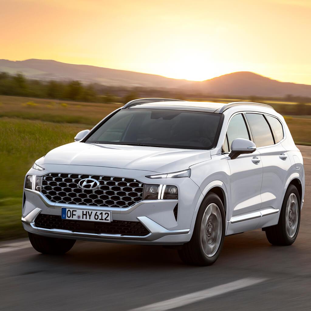 Hyundai Santa Fe Híbrido: el SUV se vuelve más ECO