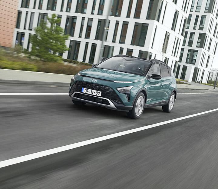 Hyundai BAYON, el nuevo SUV híbrido de 48 V