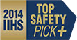 2014 IIHS Top Safety Pick+