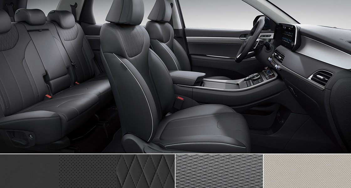 Palisade Interior Color - black onle tone(Artificial leather seat)