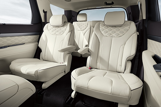 Palisade Quilted Nappa leather seat