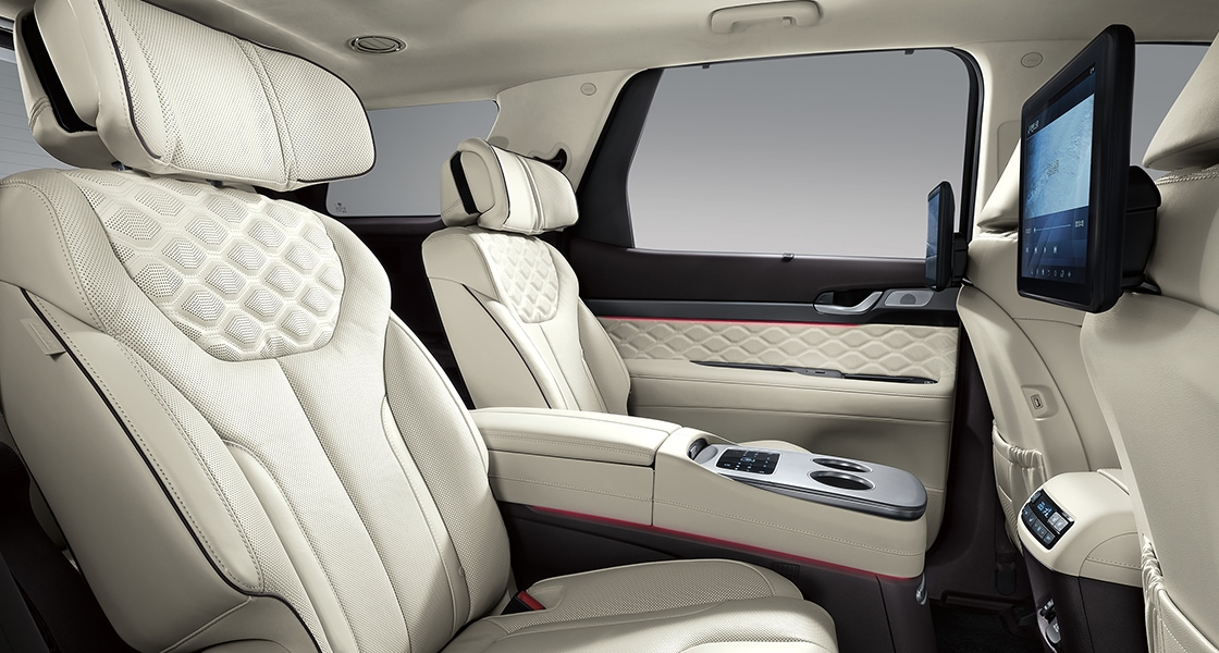 Palisade vip package interior (beige)