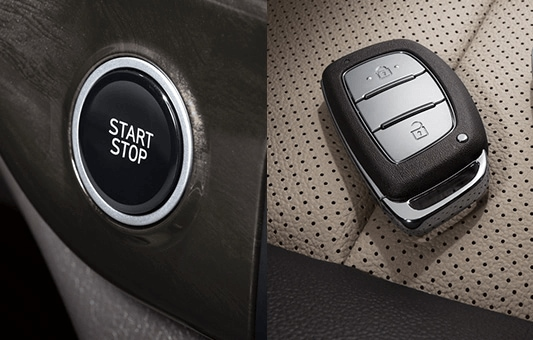 PORTER II Electric, Proximity key with push-button start