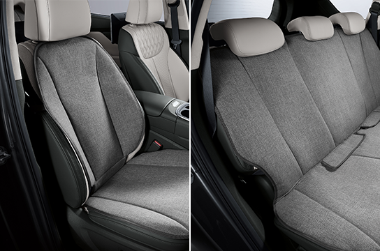 santafe Pet package II - Covers for the front seats, Covers for the second row
