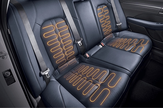 Sonata Heated rear seat