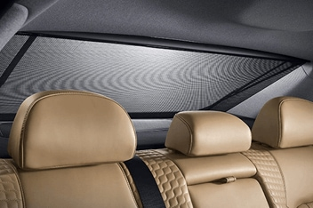 Sonata Motorized rear seat curtain