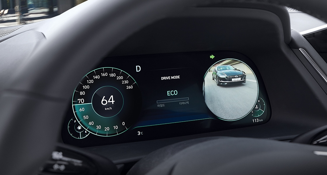 Sonata Blind-spot View Monitor